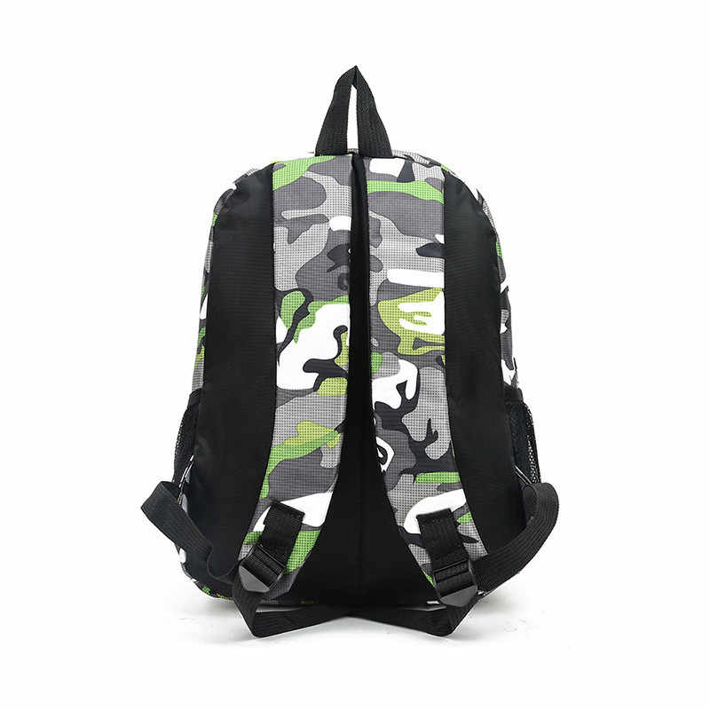 2 rozmiary torba na książki kamuflaż wodoodporne torby szkolne dziewczyny chłopcy dzieci Mochila Escolar torby szkolne dla dziewcząt chłopców