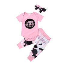 AU 3PCS Newborn Infant Baby Girl Clothes Jumpsuit Romper Pink Hoodies+Short Sleeve+Long Pants Outfits цена 2017