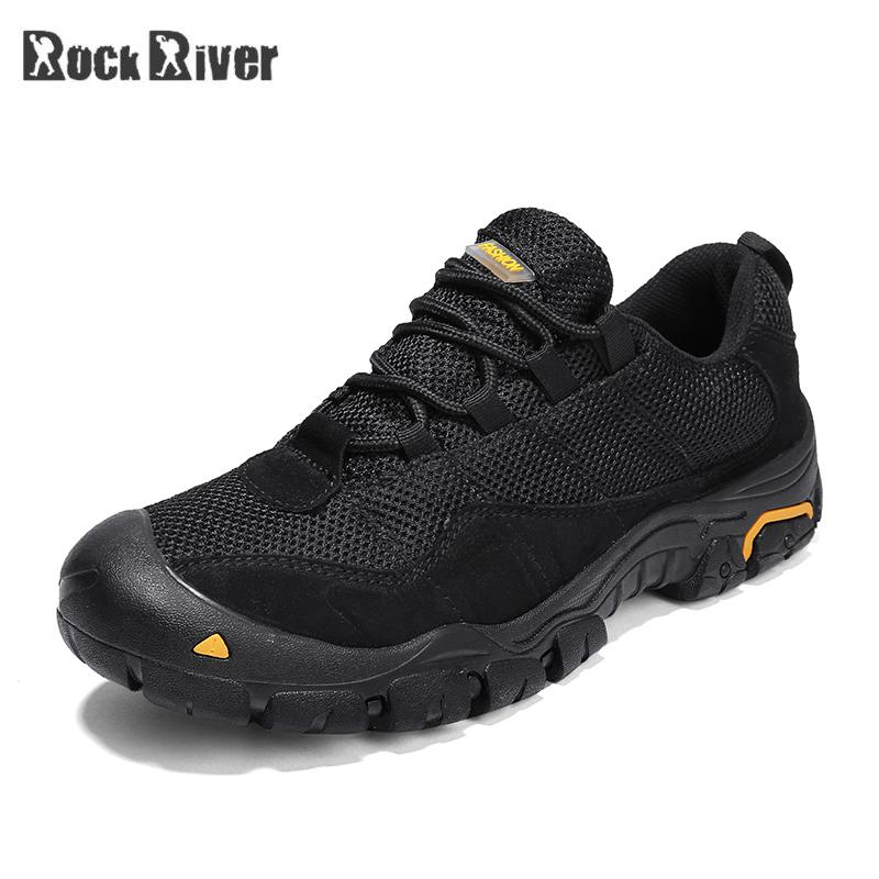 2019 Autumn Winter Mens Shoes Casual Outdoor Rubber Sole Breathable Mesh Shoes Lace up Mens Trainers Sneakers Plus Size 45 46