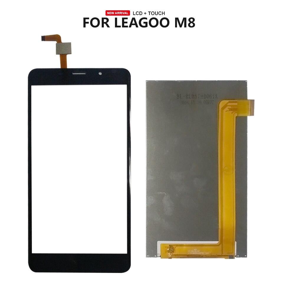 Für 5,7 zoll Leagoo M8 LCD Display Touch Screen Reparatur Teile + Werkzeuge