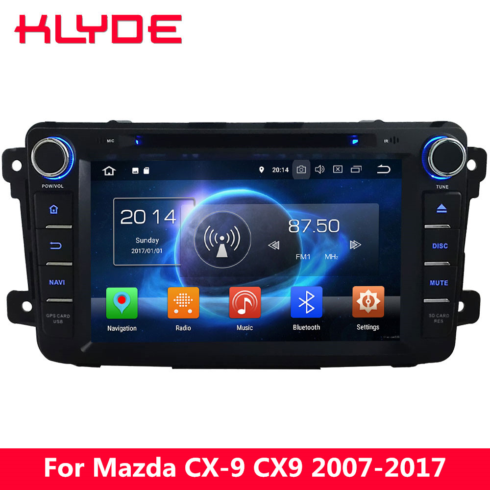 KLYDE 8 4G Octa Core 4GB 32GB Android 8 0 Car DVD font b Player b