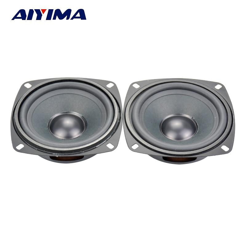 Aiyima 2PCS 4 дюймдік Bass пассивті радиатор - Портативті аудио және бейне - фото 2