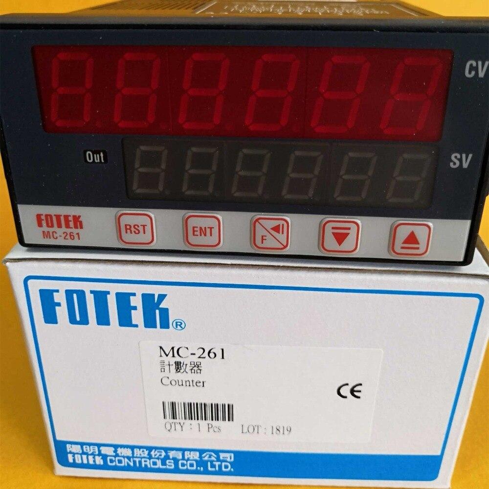 MC-261 FOTEK compteurs multifonctions 100% nouveau et OriginalMC-261 FOTEK compteurs multifonctions 100% nouveau et Original