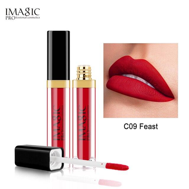 Magic mate brillo de labios impermeable líquido brillo de labios mate de larga duración belleza cosmética Sexy mantener 24 horas labios de maquillaje