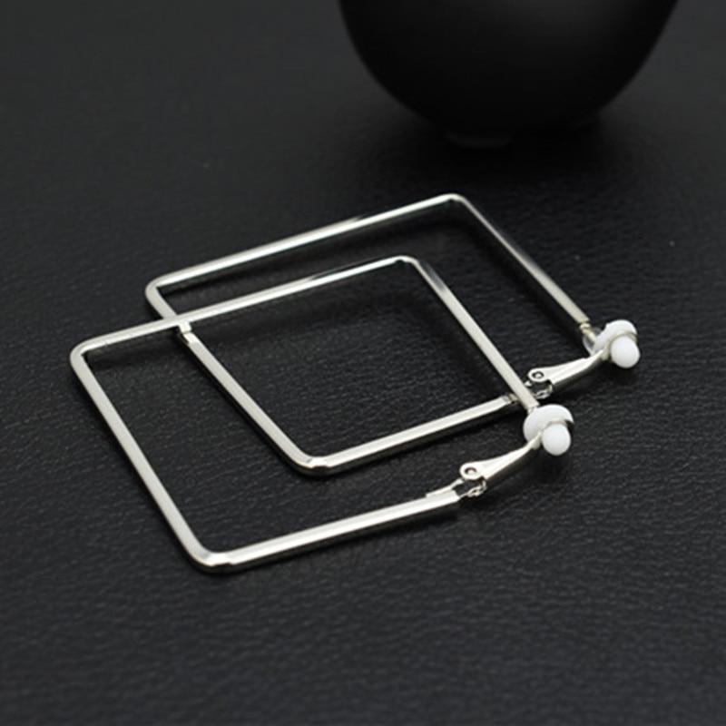 Klip på øre uden piercing Intet hul Øreringe til kvinder mode sort - Mode smykker - Foto 2