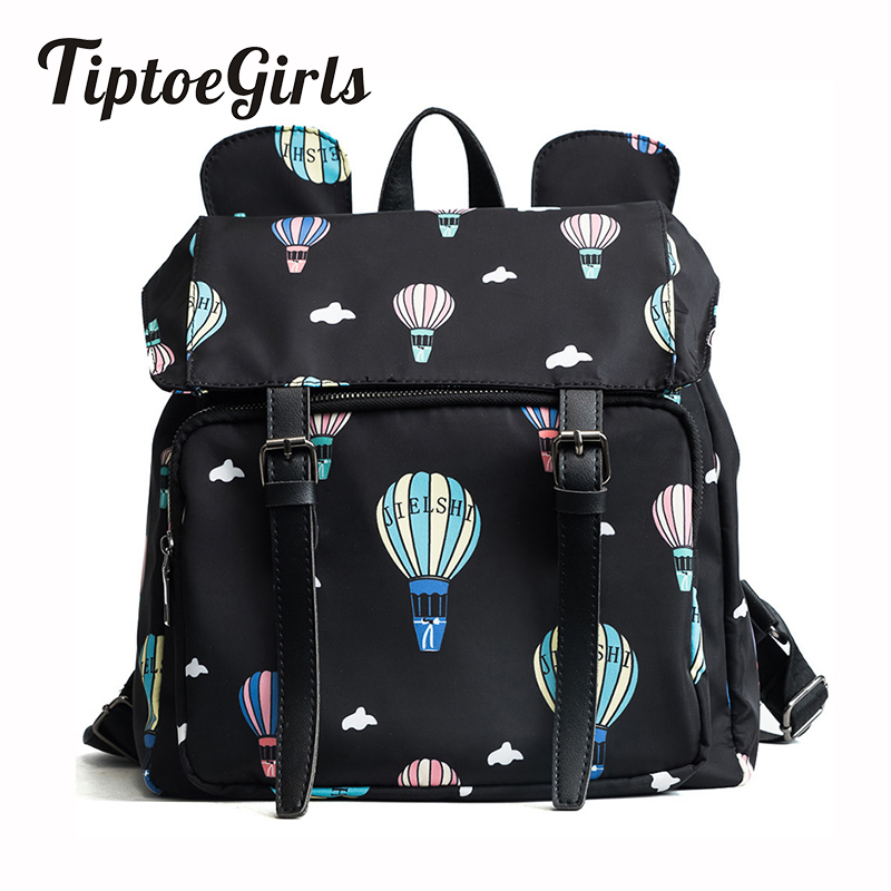 Korean Version of the New Fashion Trend Personalized Graffiti Printed Waterproof Backpack Wild Leisure Large-Capacity Travel Bag the other side of the road new extended version cd