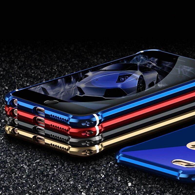 bilder für ONICO Luxus Für iPhone 6 s Plus Fall Umfasst Metall Shell Haut für Apple iPhone 6 Glitter Einzigartige Stoßfänger Tasche iPhone6s Zurück Spiegel