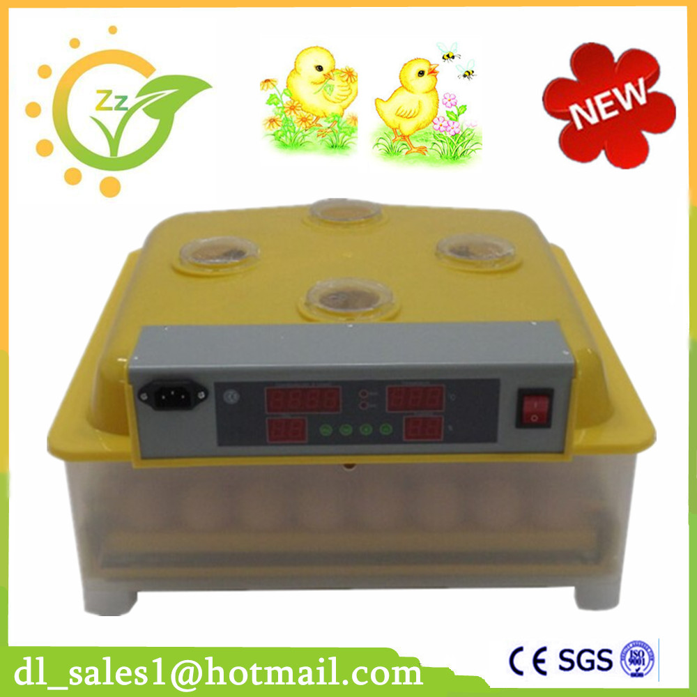 hot sale Automatic Egg Incubator Digital Poultry Hatcher Hatching 48 Chicken duck Eggs fully automatical turning 48 eggs incubator poultry chicken duck egg hatching hatcher new modle transparent bottom