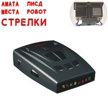 2016 Car Detector Car-detector str535 Car Radar Russia 16 Brand Icon Display X K NK Ku Ka Laser Strelka Anti Radar Detector 3856