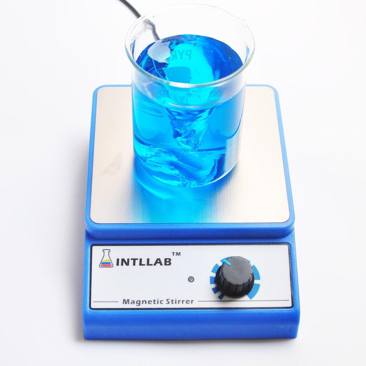 Laboratory LCD Digital Display Magnetic Stirrer Chemistry Liquid Mixer Stir Bar No Heating Plate Hotplate 1000ml 100V-240V