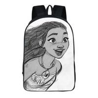 Anime Moana School Bags party supply Backpack Teenagers Boys Girls Sans vaiana Travel Bag Children Bookbag Shoulder Backpacks