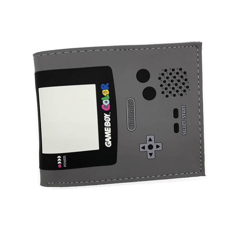 Game Boy Color Nintendo Wallets 3D Design PVC PU Short Coin Purse For Young Boys Girls Game Wallets Consoles Playstation Wallet game boy картридж diskus