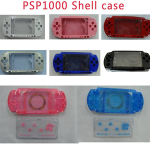 Image 1 - Trasporto Libero Per PSP1000 Console di Gioco di Ricambio Caso Della Copertura Completa Housing Borsette Con Bottoni Kit
