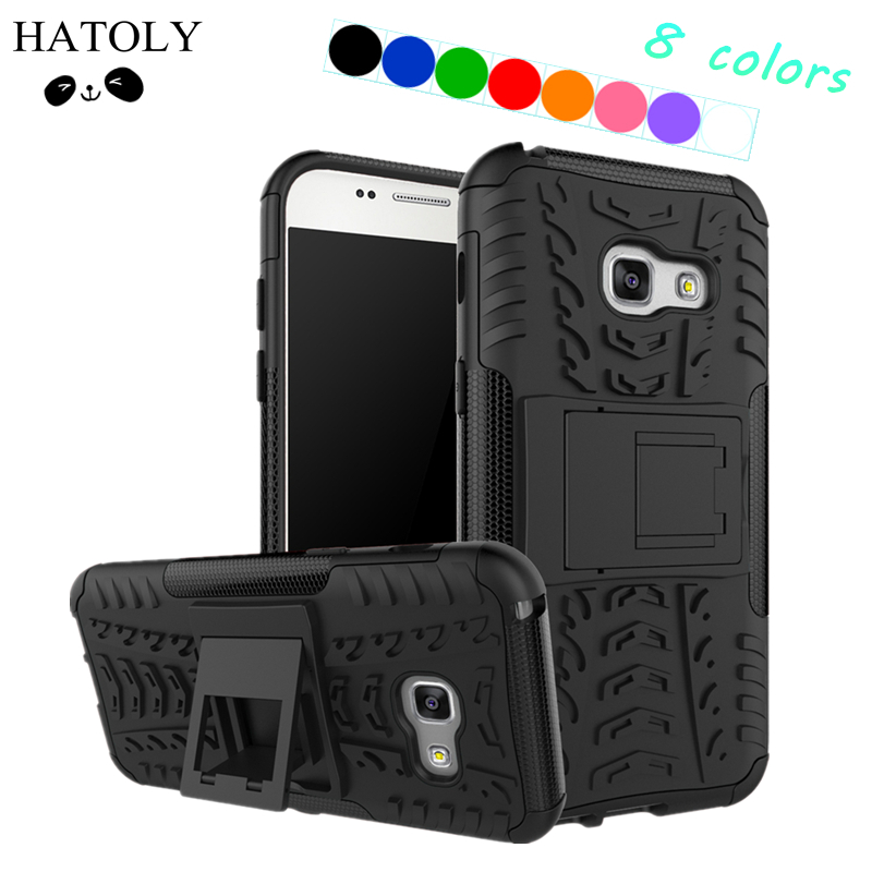 Կափարիչի համար Samsung Galaxy A3 2017 Case A320F Armour Silicone Case for Samsung A3 2017 Case for Samsung Galaxy A3 2017 հեռախոսի պայուսակի համար]