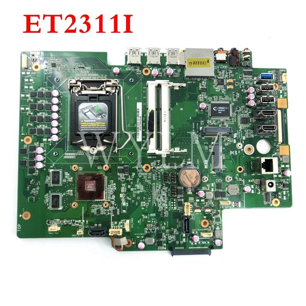 ET2311I CARTE PRINCIPALE REV1.3 Tout-en-une carte mère Pour ASUS ET2311I carte mère 90PT00L0-R01000 Testé Travail