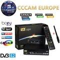 1 Год Европа Cccam Сервер HD Freesat V8 Супер DVB-S2 Спутниковый приемник Полный 1080 P Италия Испания Арабский Cccam Клайн С USB Wi-Fi