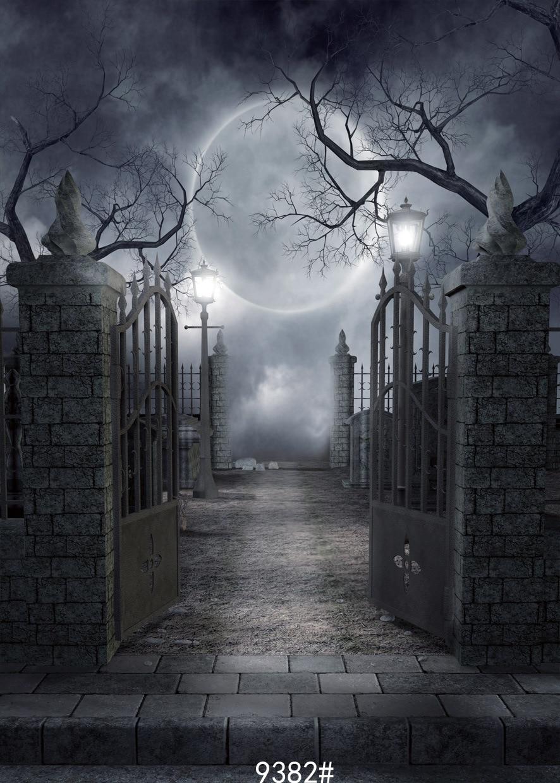 Halloween Horror Night Photo Background Thin Vinyl Photograph  Backdrops|photographic backdrops|photo backgroundvinyl backdrop - AliExpress