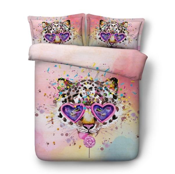 29 leopard bedding