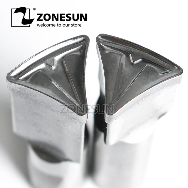 US $98 0 |ZONESUN Tablet Customized mould Press Steel Custom Hole Punch Die  Set Milk Tablet Die Logo For TDP0/1 5/3/5 Machine-in Punching Machine from
