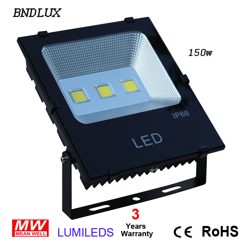 Super Bright LED Outdoor Flood Light Lighting: Waterproof Security Light 6000K Light Fixture With Knuckle Mount