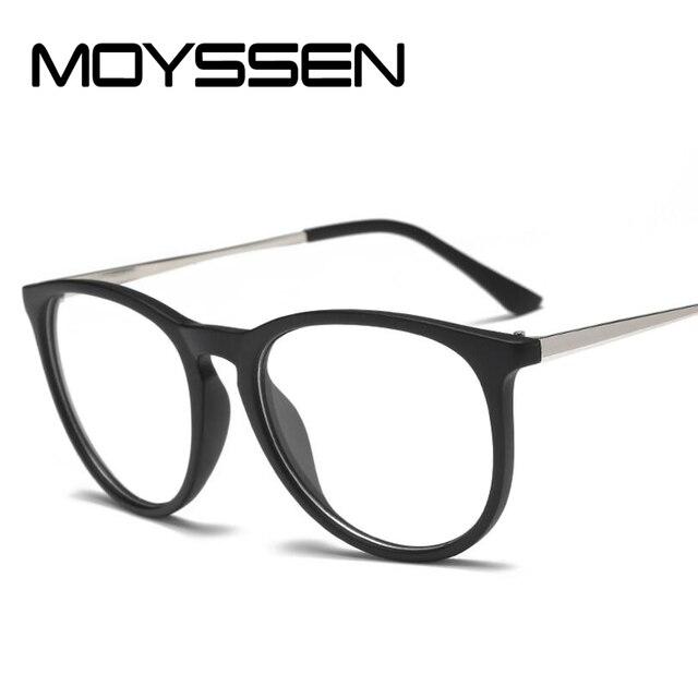 e26cf28c2889 MOYSSEN Men Women Classic Prescription Glasses Frame 4171 Decorative Retro  Myopia Eyeglasses Optical Frame Gafas