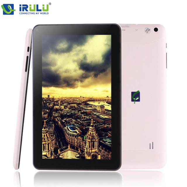 Irulu expro x1pro 9 ''android 4.4 tablet quad core dual cámara hdmi wifi google play bluetooth otg tf tarjeta ultra delgado