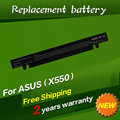 JIGU 4Cells Laptop Battery For Asus A41-X550 A41-X550A A450 A550 F450 F550 F552 K450 K550 P450 P550 R510 X450 X550 2600MAH 14.8V