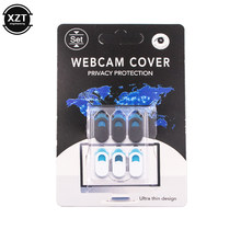 WebCam Cover Shutter Magnet Slider Camera Cover for Web Cam IPhone PC Laptops Mobile Phone Lens Privacy Sticker High Quality(China)