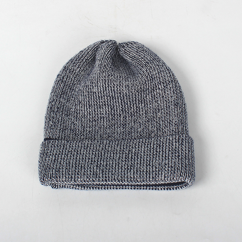 a075fbeacd4 Aliexpress.com   Buy Women Autumn Winter Hat Fashion Mix Silver Silk  Knitted Beanies Cap Female Skullies Hats Gorros from Reliable Skullies    Beanies ...