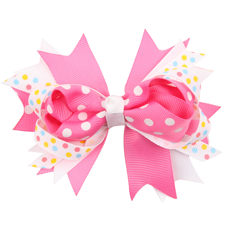 TWDVS COOL Kids Hair Clip Flower Hair Accessories Bow Knot hairgrip - Apparel Accessories - Photo 2
