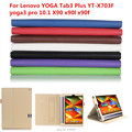 Official Original YOGA Tab3 Plus YT-X703F Tab 3 Pro Cover For Lenovo yoga3 pro 10.1 X90 x9l x90f funda cases Smart cover+Pen+OTG