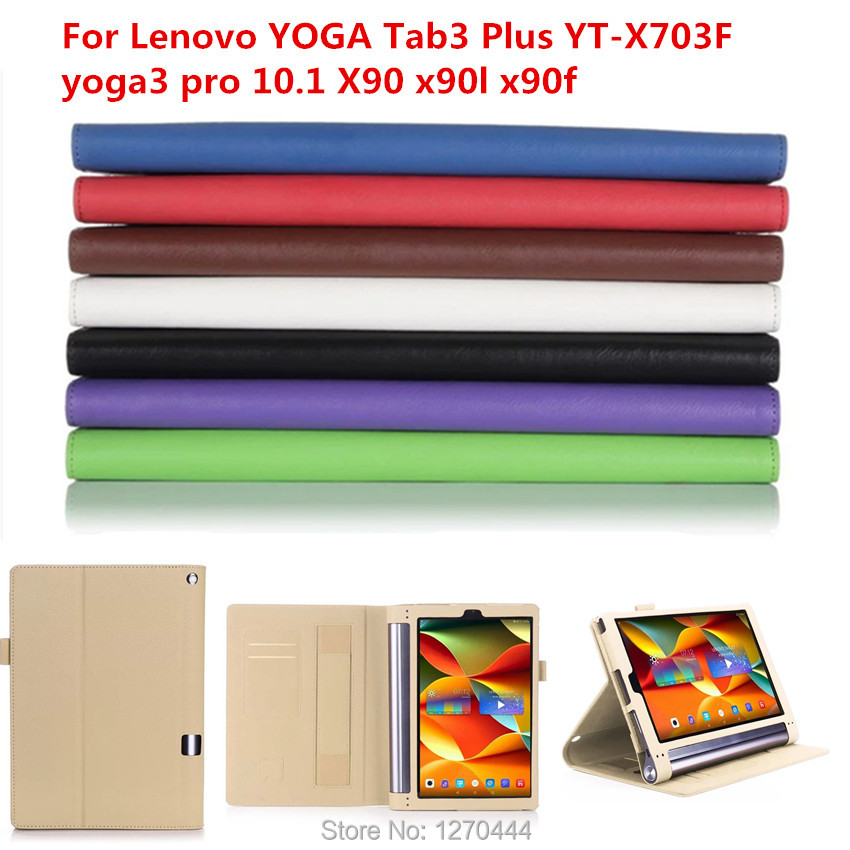 Official Original YOGA Tab3 Plus YT-X703F Tab 3 Pro Smart Cover For Lenovo yoga 3 pro 10.1 X90 x90l x90f tablets fundas cover new original for lenovo thinkpad yoga 260 bottom base cover lower case black 00ht414 01ax900