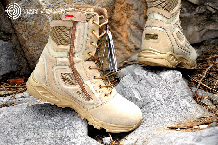 New Sport Army Men's Tactical Boots Desert Outdoor Hiking Boots Military Enthusiasts Marine Male Combat Shoes outdoor sport tactical combat men boots cp camo male desert botas hiking travel leather high military enthusiasts marine shoes