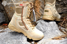 New Sport Army Men's Tactical Boots Desert Outdoor Hiking Boots Military Enthusiasts Marine Male Combat Shoes