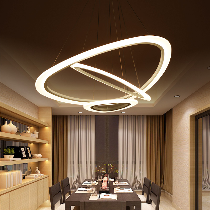 Modern led Chandelier For livingroom Diningroom suspension luminaire led avize pendant chandelier light LED Chandelier Lighting