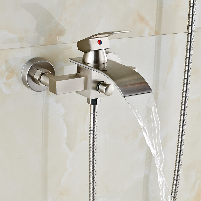 Brand New Bathroom Shower Faucet Single Handle Simple Handheld ...