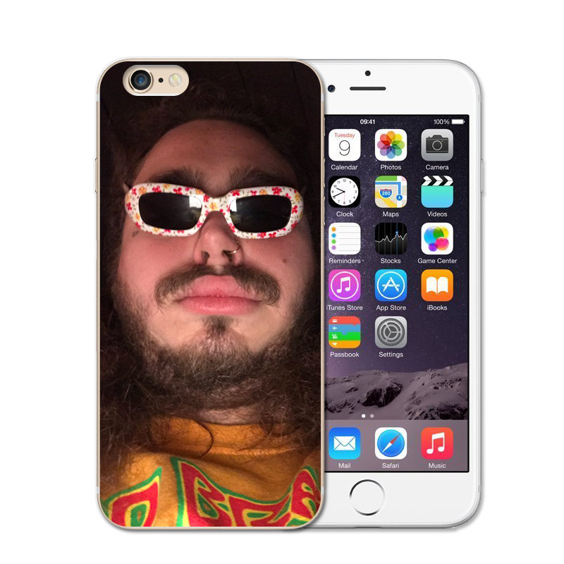 RUIXKJ Silicone Case For IPhone X Case Post Malone Going