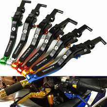 For TRIUMPH Tiger 800 XC XCX XR XRX 2015 2016 2017 2018 Extendable Adjustable Folding Motorcycle Brake Clutch Lever Handle Grips for triumph tiger 800 xc xcx xr xrx 2015 2016 foldable extendable brake clutch levers motorcycle accessories folding