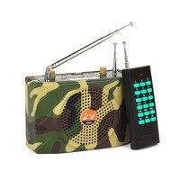 Wireless Remote Control Speaker Amplifier Megaphone Protable Microphone Loudspeaker For Teacher Guide Camping