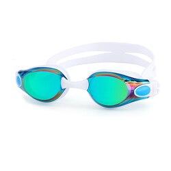 Lunettes de natation Anti-Buée Hommes et femmes en silicone professionnel piscina arena Étanche lunettes de natation lunettes lunettes De Natation