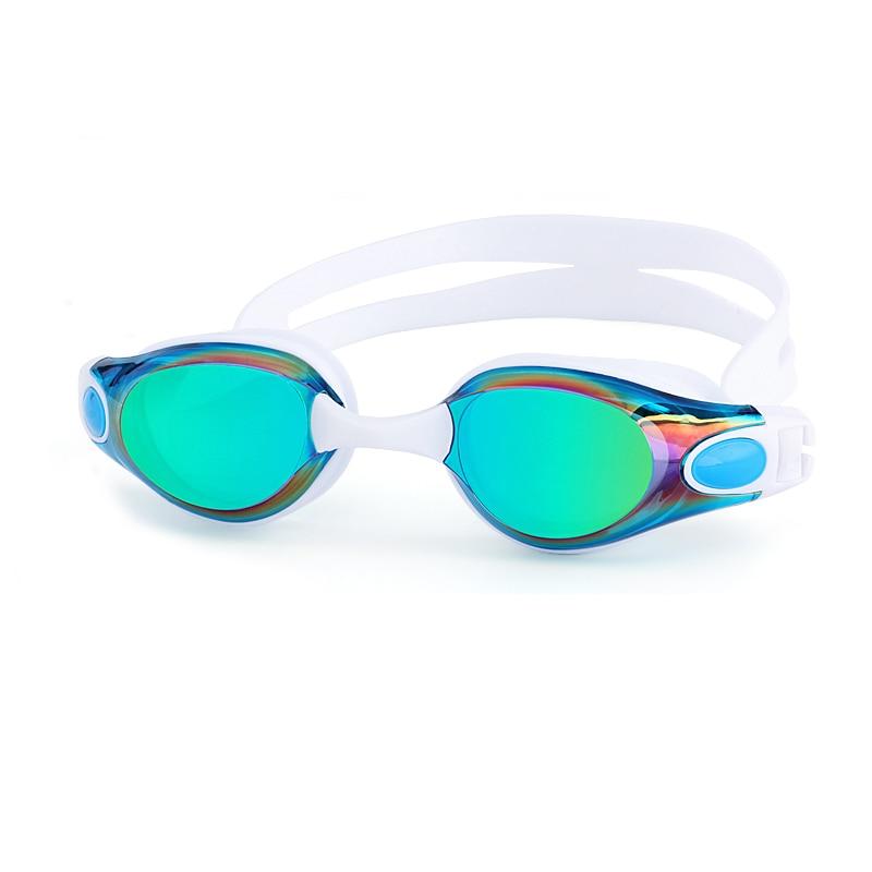 Adults Swimming Goggles Anti-Fog Men and Women Professional Silicone piscina arena Waterproof Pool Swim Eyewear Diving glasses(China)
