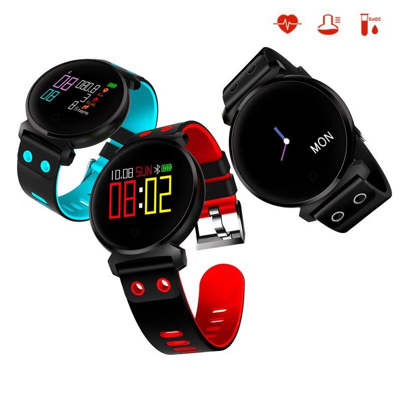K2 Smart Bracelet Coeur de La Pression Artérielle Moniteur de Fréquence De suivi de Mouvement Bande IP68 Étanche Montre Smart Watch Bracelets