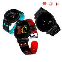 K2 Smart Bracelet Blood Pressure Heart Rate Monitor Motion tracking Band IP68 Waterproof Smart Watch Wristbands