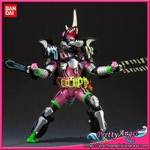 Prettyangel genuíno bandai tamashii nações s. h. figuarts kamen rider ex aid caçador ação jogador level5 figura de ação