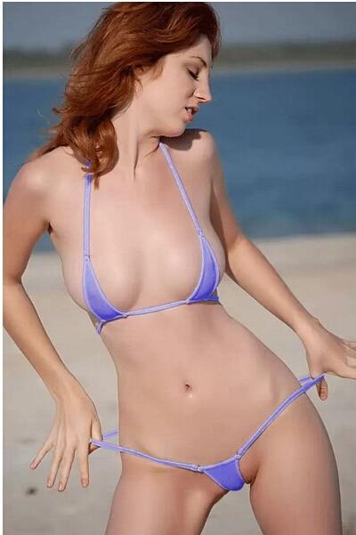 Ultra small mini bikini swimsuit bikini women sexy underwear sexy ladies ice silk three point