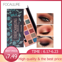 Focallure 14 Colors Pro Makeup Glitter Eyeshadow Pallete Shimmer Eye Shadows palette Pigment  Beauty Makeup Shadow
