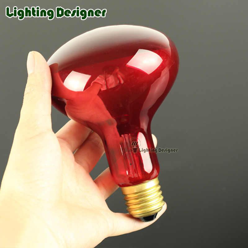 R80R95 красная лампа для обогрева инфракрасная лампа точечная луковица 120 В/220 В 100 Вт 150 Вт рептилий лампочка помогает сохранить тепло животных