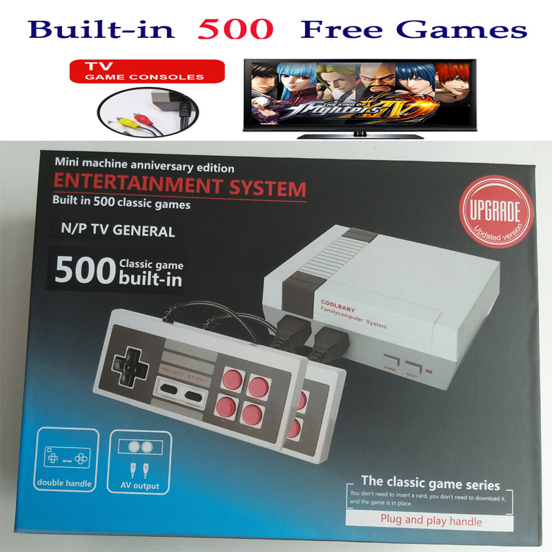 Mini Game Console Retro TV Handheld Video Game Console mini Games player Built in 500 Different