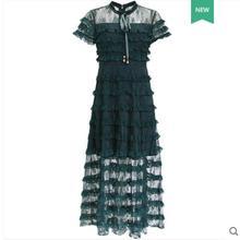 الدانتيل لعام فستان مرقع