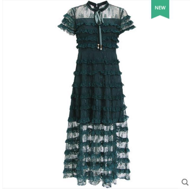 UNA della rappezzatura del merletto del vestito dalla torta per 2019